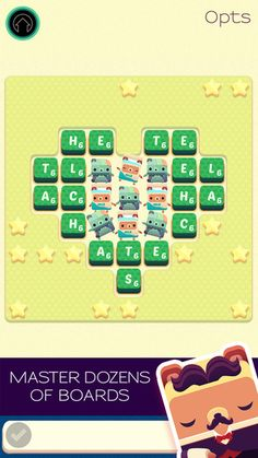 Alphabear: Word Puzzle Game ($0.00 with iAP options for coins and infinite honey) In Alphabear, you spell words by selecting letters on a grid. When you use letters that are next to each other, bears appear! The more letters you use in an area, the bigger the bear gets, and the more points you earn. Perform well enough, and you might just a win a bear of your own to keep forever.