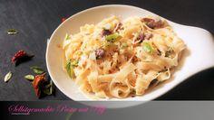 Selbstgemachte Pasta mit Pfiff Cabbage, Pasta, Vegetables, Food, Just Go, Homemade, Food Food, Meal, Essen