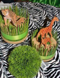 Decorations at a Safari Jungle Party #safarijungle #partydecor