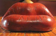 Salvador Dali's Mae West lips sofa (1937)