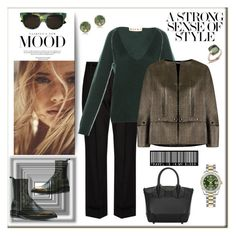 """A strong sense of style"" by zabead ❤ liked on Polyvore featuring Antonio Marras, Marc Jacobs, Christian Louboutin, Marni, Victoria's Secret, Diesel, Reinaldo Lourenço, Anne Sisteron, Pomellato and Rolex"