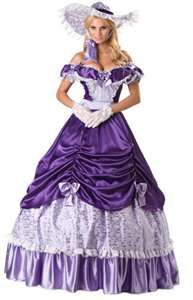 Southern Bell, extremely, close to my dress, accept in Purple, and mine has a much nicer bottom.  Longer train, I love mine, just need to do the color, different.