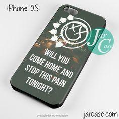 Blink 182 Lyrics 3 Phone case for iPhone 4/4s/5/5c/5s/6/6 plus