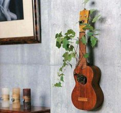 musical instruments decor for music lovers