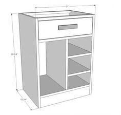 CPU Base Cabinet for Desk featured on HGTV Saving Alaska
