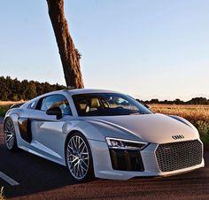 2017 Audi R8 V10 Plus - @millionaire.surroundings Photo by @auditography   #LuxuryLifestyleMagazine