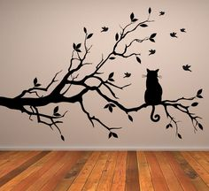 cat art wall - Buscar con Google