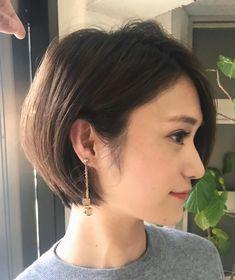 Pin on Hair ideas Pin on Hair ideas Kpop Short Hair, Asian Short Hair, Short Grey Hair, Very Short Hair, Short Hair Cuts For Women, Haircuts Straight Hair, Cute Hairstyles For Short Hair, Modern Hairstyles, Shot Hair Styles