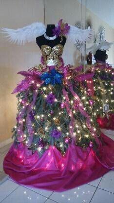My beautiful mannequin Christmas tree