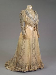 Worth dress of Empress Maria Feodorovna, 1898, From the State Hermitage Museum