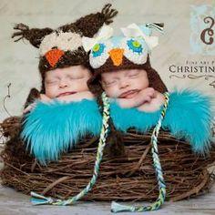 Twin Size Wood Branch Newborn Owl Bird Nest Photography Prop Baby T......   beautifulphotoprops - Children\'s on ArtFire