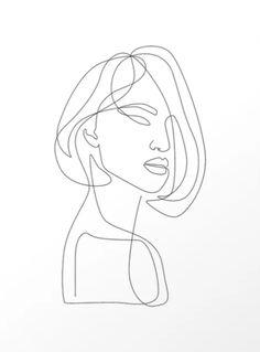 """Flirty"" by Explicit Design - Minimalist Art + Illustrations""Flirty"" by Explicit Design Minimal Art, Minimal Drawings, Minimal Decor, Single Line Drawing, Continuous Line Drawing, Single Line Tattoo, Wall Drawing, Painting & Drawing, Line Drawing Art"