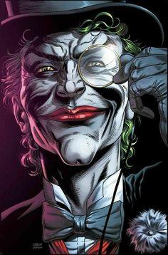 Joker Dc Comics, Joker Comic, Joker Art, Comic Art, Comic Book, Batman Joker Wallpaper, Batman Artwork, Joker Wallpapers, 3 Jokers