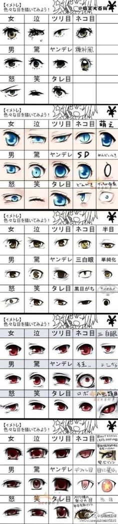 Anime eyes by FatimaS