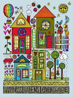 quenalbertini's prints & posters - houses, nature , print-via persimmonsgal54220.blogspot.com...