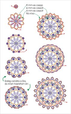 Free DIY tut - Beautiful Brooch pattern