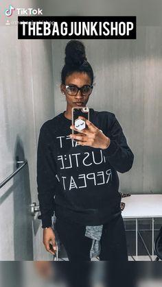 Tshirts & Sweatshirts ✨ Custom Sweater Refashion, Cover Pages, Handmade Bags, Cool Tees, Sweaters For Women, Sweatshirts, T Shirt, Shopping, Supreme T Shirt