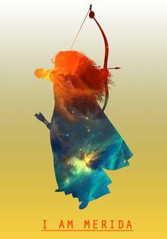 Space Princesses: Merida