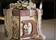 a cute hand made gift box..