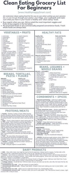 thumbnail of Clean Eating Meal Plan Printable Theres a simple reason why most di. - thumbnail of Clean Eating Meal Plan Printable Theres a simple reason why most diets fail– they do - Grocery List Printable, Grocery Lists, Food Lists, Meal Plan Grocery List, Shopping Lists, Healthy Fridge, Healthy Food List, Healthy Meals, Eating Healthy