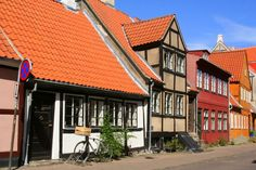 Houses at Helsingor, North Sealand, Denmark, a spot the Danes want to keep for themselves. Read this blog for the highlights and some tips
