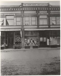 Using space left vacant by the 1888 fire, Charles Webster Crews and R. H. Beggs constructed this building in 1900 as a branch of their Pueblo store. The company, founded in 1882 in Leadville, went out of business in 2000 after closure of the Salida store