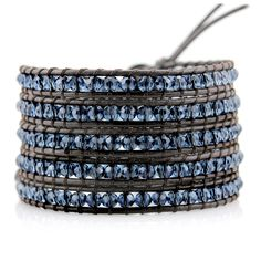 Love this shade of blue - Victoria Emerson DARK INDIGO CRYSTALS ON BROWN  From $199.00 on sale for $24.00