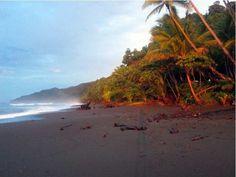 Bahía Drake, cerca del Parque Nacional Corcovado en Costa Rica