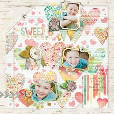 howsweet by nettie b I thought this was a great way to use that gorgeous pp!