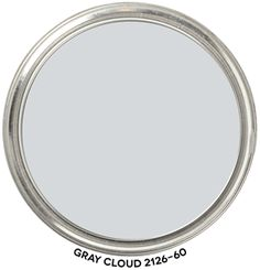 Includes paint blob to swipe. Objective, accurate info from a Color Strategist! Neutral Paint Colors, Paint Colors For Home, Wall Colors, Benjamin Moore Bedroom, Benjamin Moore Gray, Silver Grey Paint, Light Gray Paint, Cloud Bedroom, Colour Schemes