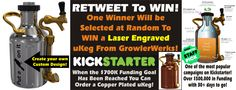 Retweet this post on twitter: https://twitter.com/PortlandiaTV/status/529331375199903744 to WIN a Laser Engraved #uKeg from @GrowlerWerks #Beer #Kickstarter #Contest #Portland  #PDX #keg
