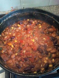 Chili Con Carne van Nigella Lawson, met Rob!