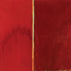Pat Steir - Red on Red, 2014