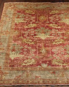 """""""Oushak"""" Rug by Safavieh at Horchow."""