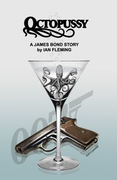 Octopussy cover book. Artwork by jackiejr  #jamesbond #007
