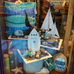Pebbles Gift Shop Spring 2016 PropaganZa Visual Display & Design Visual Display, Display Design, Spring Window Display, Spring 2016, Life Is Good, Iron, Gifts, Presents, Life Is Beautiful