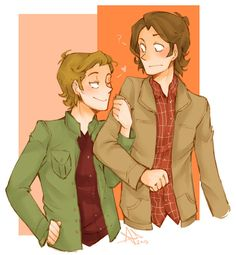 I don't normally ship Sabriel but this was too cute to pass up