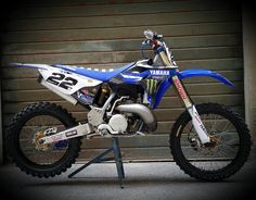 Yamaha YZ250 Factory Bike Motocross Love, Motorcross Bike, Mx Bikes, Sport Bikes, Mx Racing, Yamaha 125, Custom Muscle Cars, Moto Bike, Racing Motorcycles