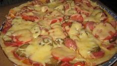 Rýchla jogutová pizza z panvice