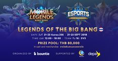 Online Mobile, Mobile Legends, Live Events, Esports, Competition