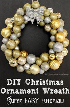 Мастер-класс очень простого рождественского веночка в последний понедельник уходящего года!) | Дизайн ручной работы