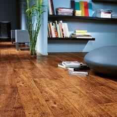 Quickstep Perspective Antique Oak by Des Kelly Interiors Best Laminate, Oak Laminate Flooring, Wood Tile Floors, Best Flooring, Flooring Options, Quick Step Flooring, Perspective, Light Blue Walls, Wood Vinyl