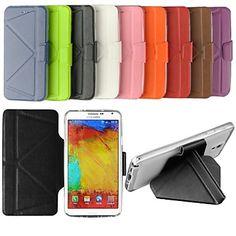fitin® beschermende pu + tpu full body case w / stand voor Samsung Galaxy Note 3 (verschillende kleuren) - EUR € 7.67