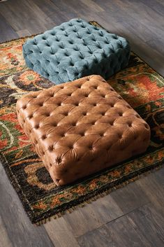 An elegant ottoman is an easy way to add instant opulence to a space. Luxury Furniture, Home Furniture, Furniture Design, Furniture Ideas, Classic Furniture, Wooden Furniture, Furniture Makeover, Outdoor Furniture, Classic House