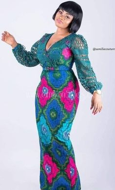 Fantastic Mid-Week Ankara Styles To Get Your Creative Juices Flowing! African Dresses For Kids, African Maxi Dresses, Latest African Fashion Dresses, African Attire, African Print Fashion, Africa Fashion, Moda Afro, African Traditional Dresses, Looks Plus Size