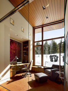 Butte Residence: An invigorating mountain home in Wyoming by Carney Logan Burke Architects