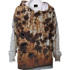 Rust Hoodie from Print All Over Me