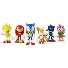 """Sonic the Hedgehog 20th Anniversary 2 inch Classic Multipack - JazWares, Inc - Toys """"R"""" Us"""