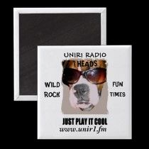 yes this rocks ......get a magnet with UNIR1 RADIO NAME         http://www.zazzle.com/unir1_radio_magnet_with_boxer_head_1_heads-147602318041241727 SUPER LOOK FOR UNIR1 FANS