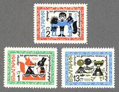 ブルガリア切手 子供週間 1969年発行 / 海外絵本・古書絵本の通販、フィネサ・ブックス